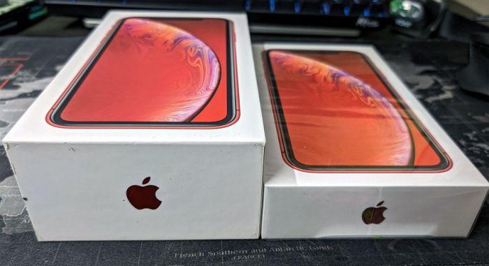 Коробки iPhone