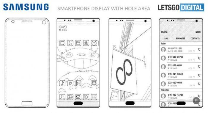 Новый интересный патент безграничного дисплея от компании Samsung – фото 1