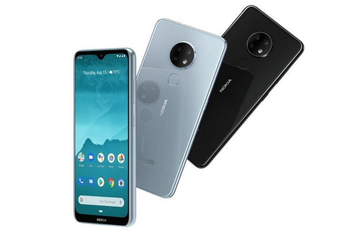 Представлены Nokia 6.2 и Nokia 7.2