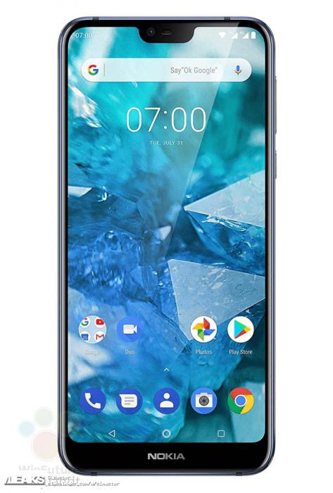 Nokia 7.1: изображения и характеристики – фото 1
