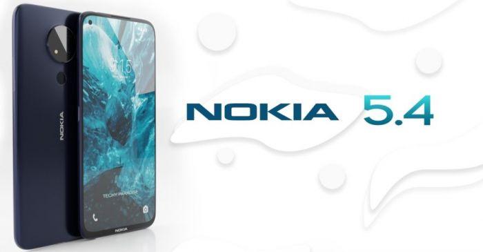 Рендер Nokia 5.4