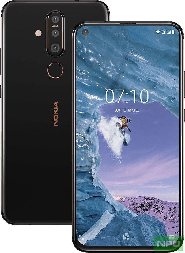 Представлен Nokia X71 с тройной камерой и «дыркой» в дисплее – фото 1