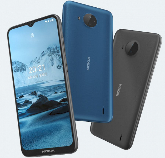Представлен Nokia C20 Plus: живучий и унылый – фото 1