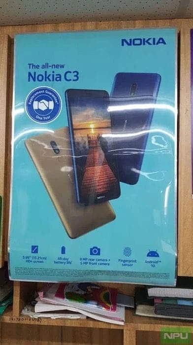 Постер Nokia C3