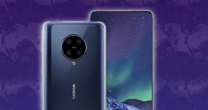 Новый рендер Nokia 9.3