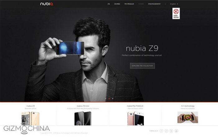 Nubia объявил о запуске своего сайта на CES 2016 – фото 1