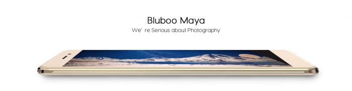 Bluboo Maya Max со стеклом Gorilla Glass 4, сканером отпечатков пальцев и Hi-Fi звуком – фото 1