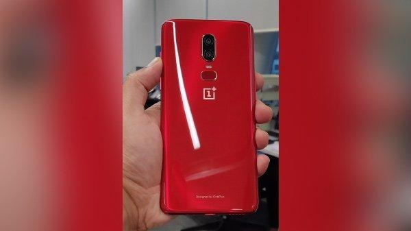 OnePlus 6 оденется в красный – фото 4