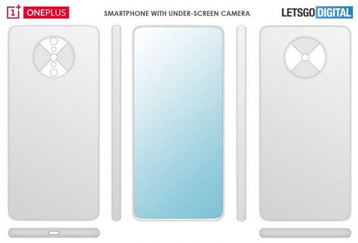 OnePlus запатентовала концепт полноэкранного смартфона с интересной основной камерой – фото 2