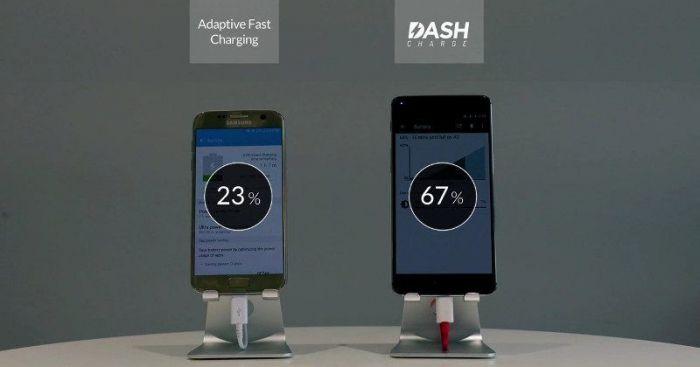 Битва технологий быстрых зарядок: OnePlus 3 против Samsung Galaxy S7 – фото 1