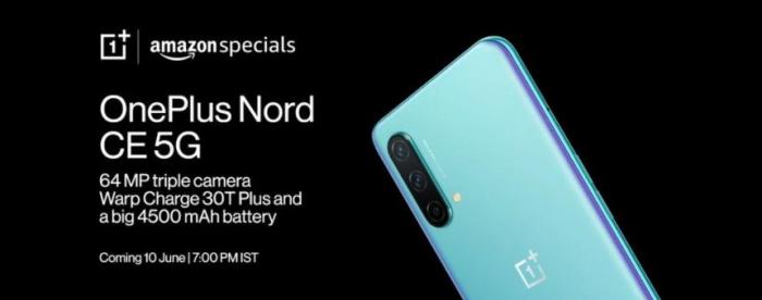 OnePlus Nord CE 5G: изображения и цена – фото 1