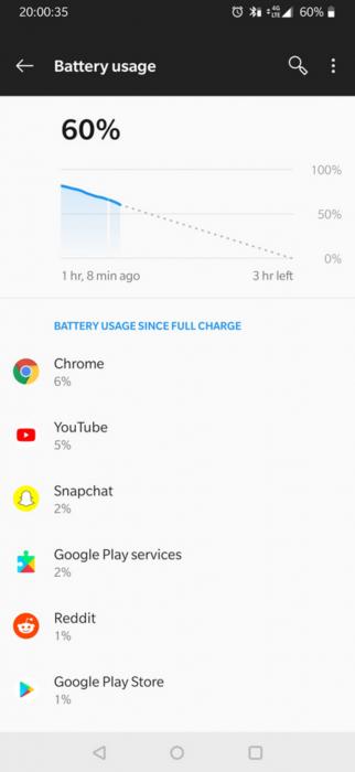 Некоторые OnePlus 6T начали быстро терять заряд аккумулятора – фото 2