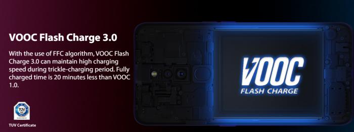 Oppo Reno получил быструю зарядку VOOC 3.0 – фото 2