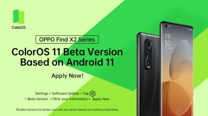 Oppo Find X2 ColorOS 11