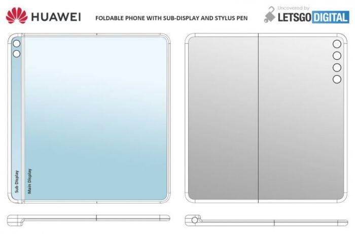 Так может смотреться Huawei Mate X2