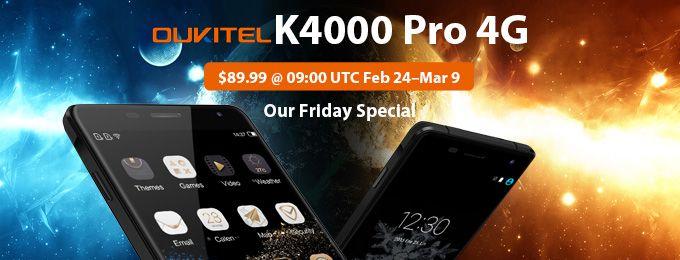 Не упустите шанс купить Oukitel K4000 Pro в магазине Gearbest по цене $89,99 – фото 1