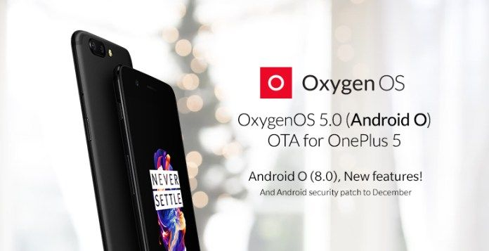 OnePlus 5 начал обновляться до Android Oreo – фото 1