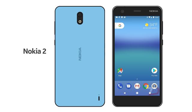 Nokia 2 показал себя на рендере – фото 1