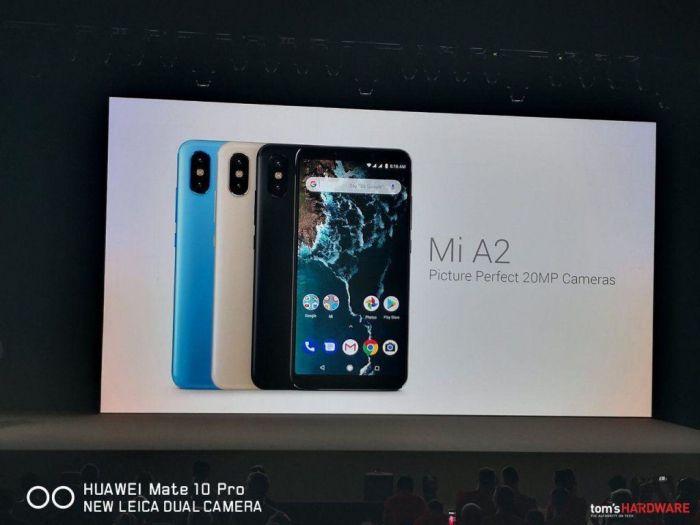 Дебют Xiaomi Mi A2 и Mi A2 Lite: дуэт на «чистом» Android – фото 1
