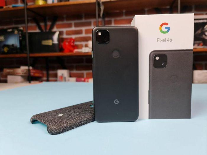 google pixel 4a коробка