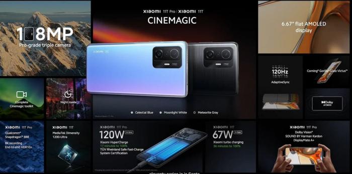 Анонс Xiaomi 11T и 11T Pro: почти как флагманы – фото 3