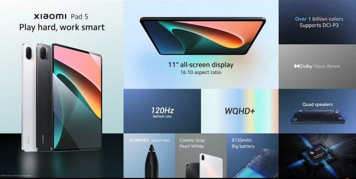 Xiaomi Mi Pad 5 выходит на глобальный рынок – фото 2