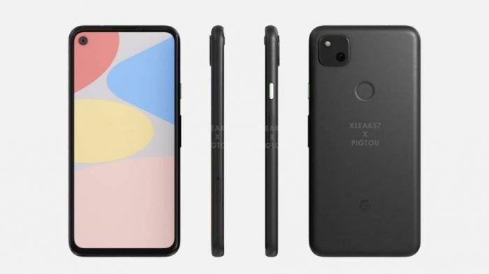 Внешний вид Google Pixel 5 и Pixel 4a слили – фото 3
