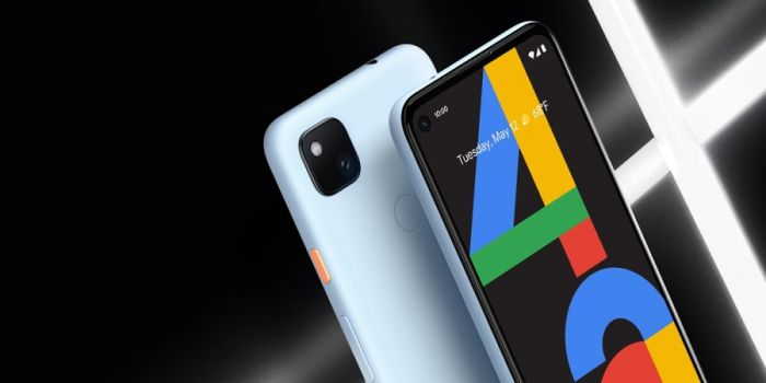 Pixel 4a barely blue