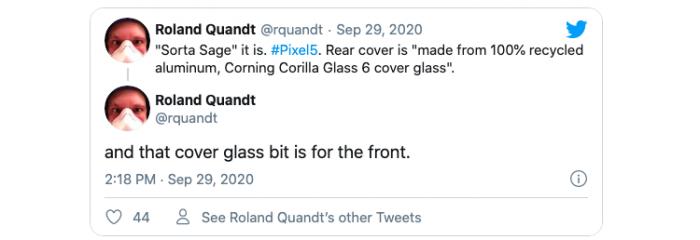 Google Pixel 5: прощай стекло — да здравствует металл – фото 2