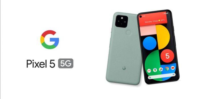 Pixel 5 официальное изображение