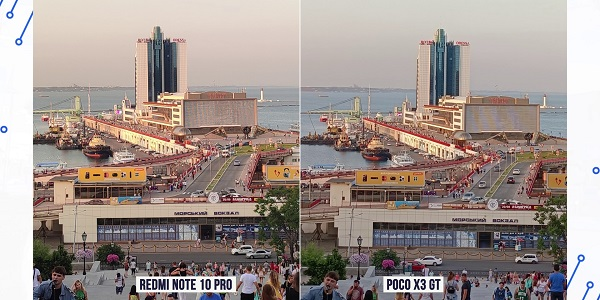 сравнение камер poco x3 gt и redmi note 10 pro