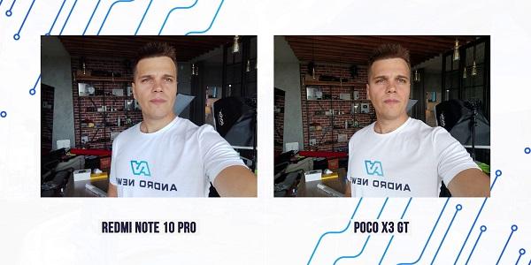фронтальная камера Poco X3 GT