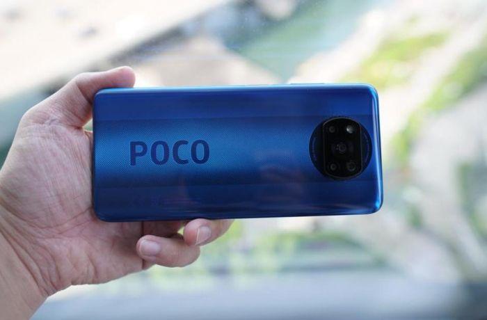 Poco X3 NFC в синем цвете