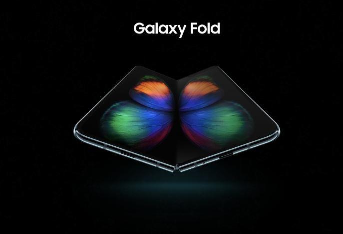 Складной Samsung Galaxy Fold на официальном рендере – фото 2