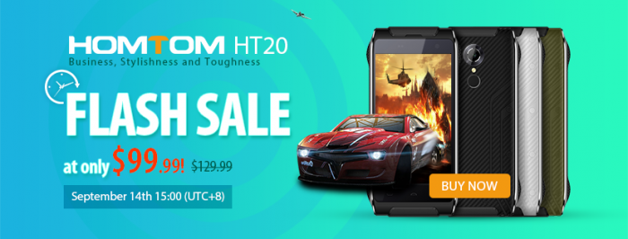 HomTom HT20 - компактный водонепроницаемый смартфон всего за $100 – фото 1