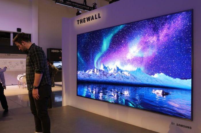 Модульный телевизор-стена на 146 дюймов на выставке CES 2018 – фото 3
