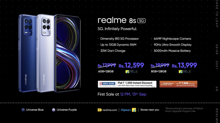 Announcement of Realme 8s and Realme 8i: the first smartphones with new MediaTek chips - photo 1