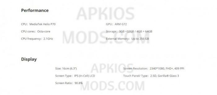 Технические характеристики Realme U1 всплыли в сеть – фото 3