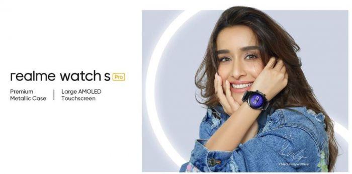 Постер Realme Watch S Pro