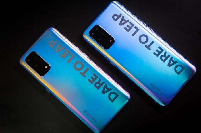 Realme X7 Pro задник