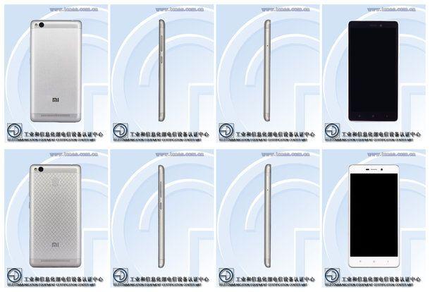 Xiaomi сертифицировала Redmi 3A и Redmi 3S – фото 1