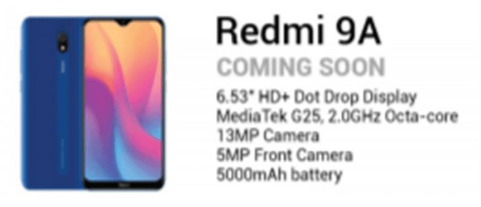 Redmi 9A и Xiaomi Mi Band 4C: девайсы, рассекретивш??