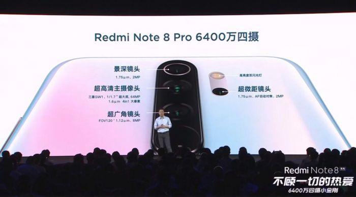 Redmi Note 8 Pro тизер