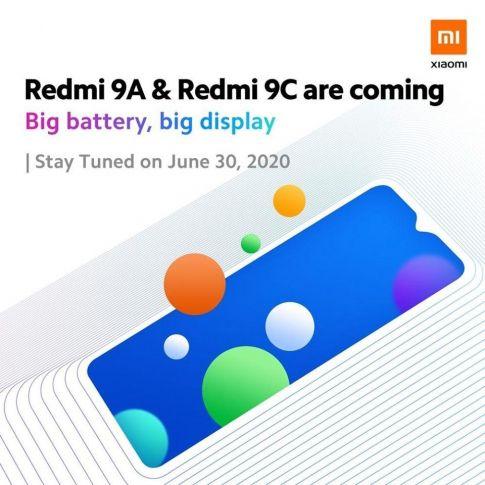 Redmi 9A и 9C