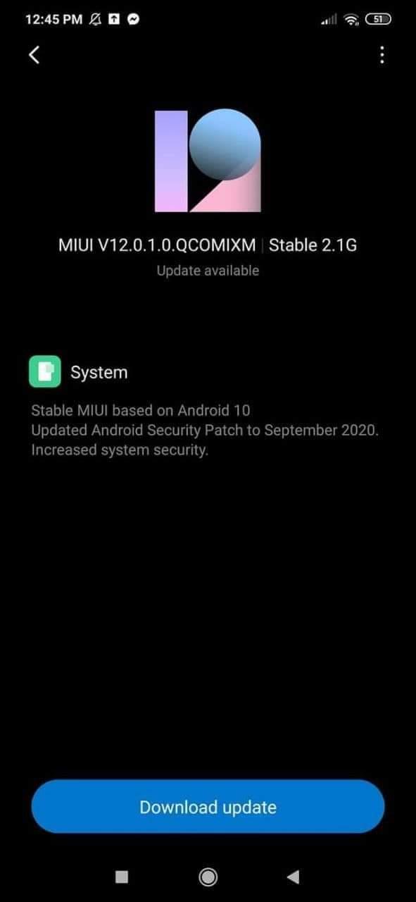 Redmi Note 8 получает MIUI 12 на основе Android 10 – фото 2