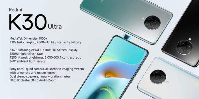 Redmi K30 Ultra характеристики