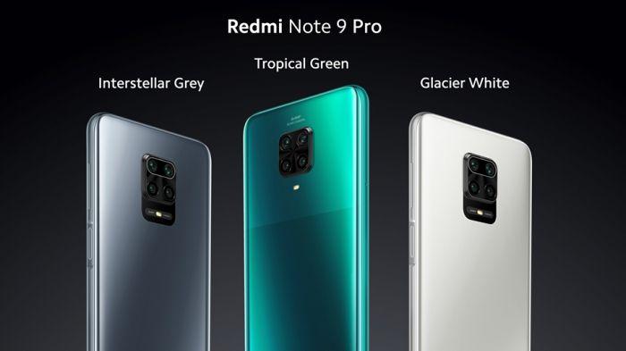 Redmi Note 9 Pro все расцветки
