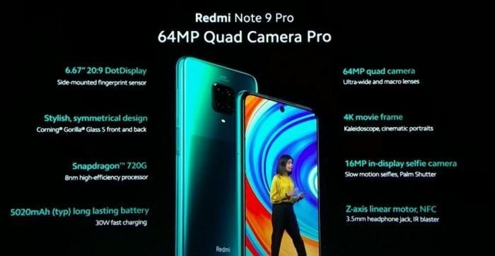 Redmi Note 9 Pro презентация