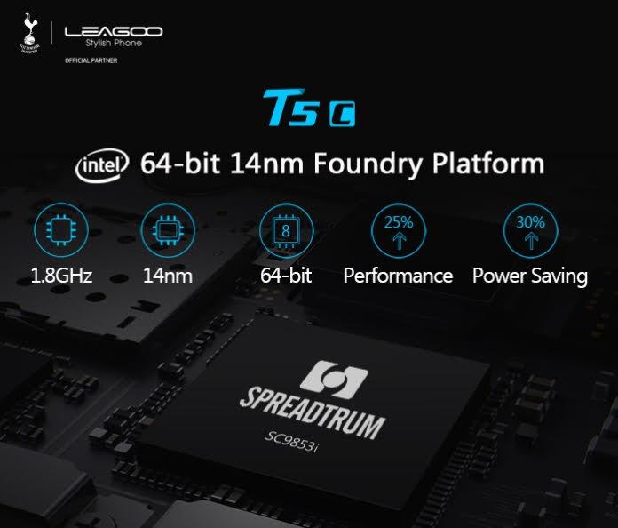 Leagoo T5c — станет первым смартфоном с чипом Spreadtrum SC9853i – фото 2