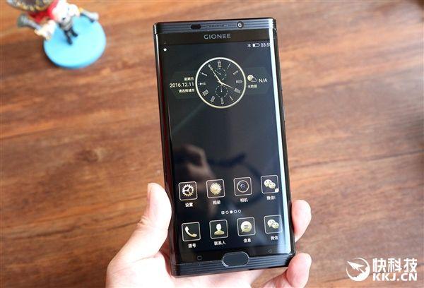Gionee M2017 – эксклюзивный смартфон, как символ достатка и статуса – фото 3